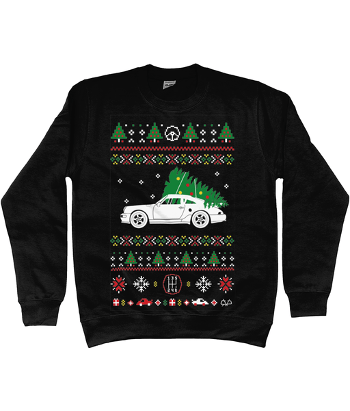 Porsche 911 Turbo Christmas Jumper