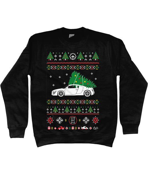 Audi R8 Christmas Jumper