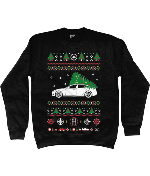 Tesla Christmas Jumper