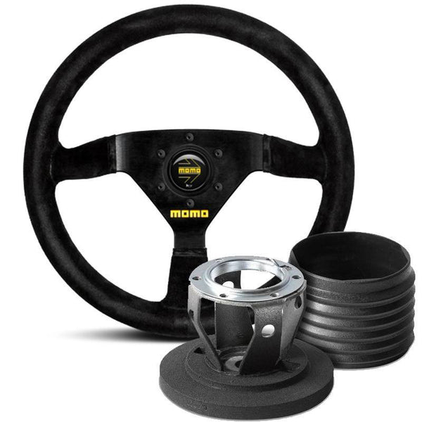 MOMO Model 69 Steering Wheel and Hub Kit for BMW 6-Series (E24)