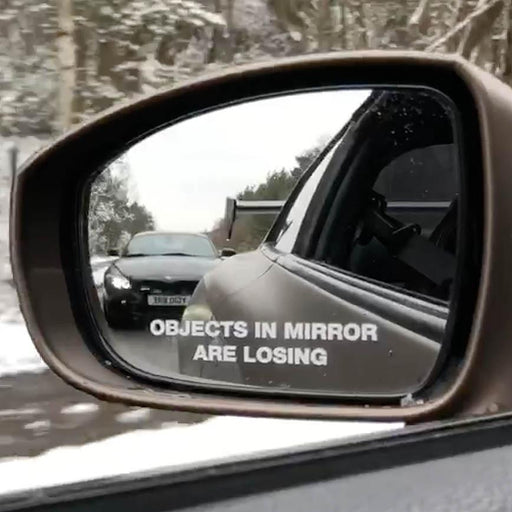 Objects In Mirror Are Losing Set (x3)