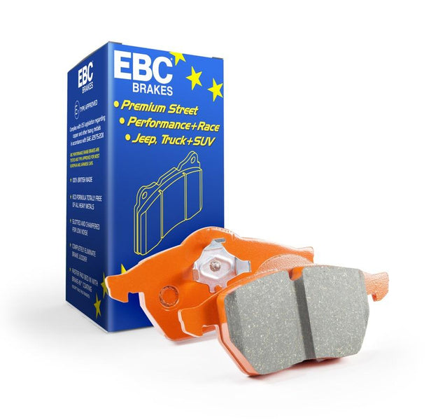 EBC Orangestuff Rear Brake Pads  for Volkswagen Polo (6C)