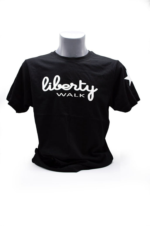 Liberty Walk White Logo T-Shirt