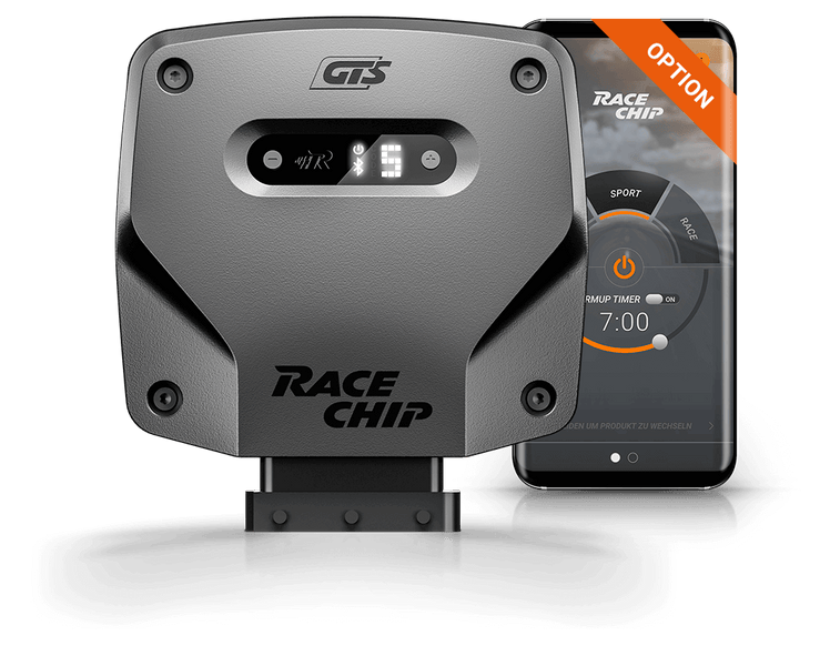 racechip gts tuning box with app control for audi a4 (b7) — car