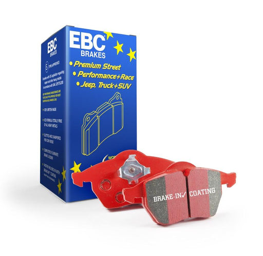 EBC Redstuff Rear Brake Pads for Vauxhall Astra (H)