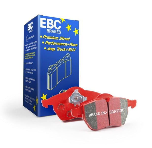 EBC Redstuff Rear Brake Pads for Vauxhall Astra (J)