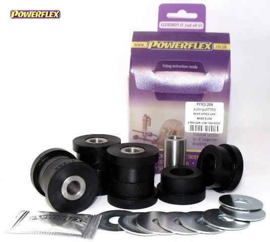 Powerflex Rear Upper Arm Inner Bush Kit for Audi S4 (B5)