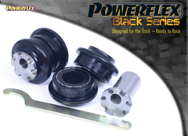 Powerflex Black Series Front Control Arm to Chassis Bush - Camber Adjustable Kit for BMW 1-Series (F21)