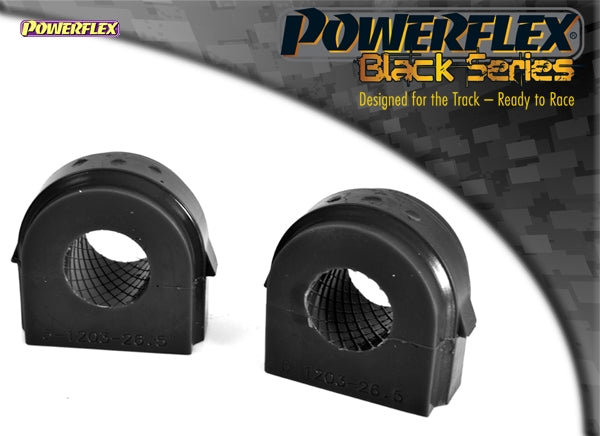 Powerflex Black Series Front Anti Roll Bar Bush 26.5mm Kit for BMW 3-Series (E93)