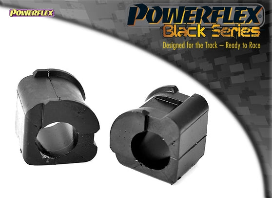 Powerflex Black Series Front Anti Roll Bar Bush Eibach 22mm Kit for Volkswagen Golf (MK2)