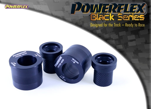 Powerflex Black Series Front Wishbone Rear Bush Caster Offset Kit for Seat Ibiza (6L)