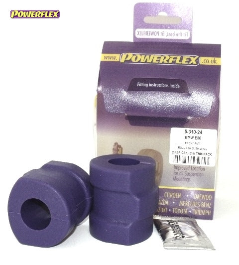 Powerflex Front Anti Roll Bar Mounting 24mm Kit for BMW 3-Series (E36)
