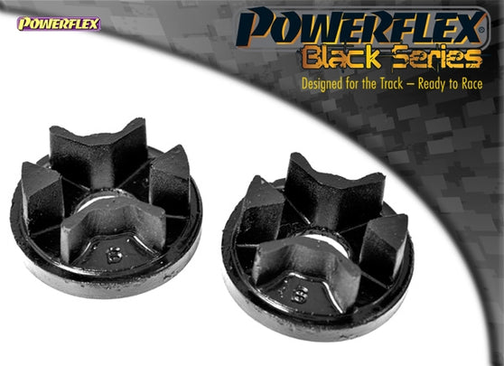 Powerflex Black Series Lower Engine Mount Large Bush Insert Kit for Mini Hatch (R53)