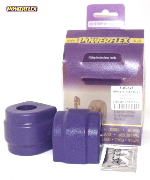 Powerflex Front Anti Roll Bar Bush 25mm Kit for BMW Z4 (E85)