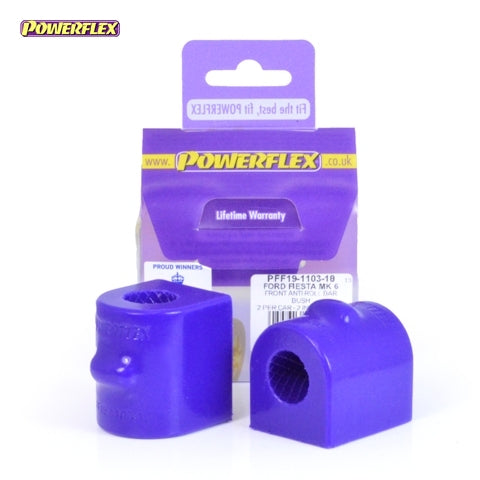 Powerflex Front Anti Roll Bar Bush 18mm Kit for Ford Fiesta ST (MK6)