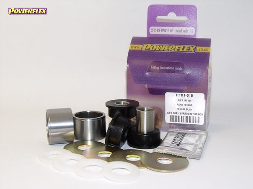 Powerflex Rear Tie Bar to Hub Bush Kit for Alfa Romeo 147