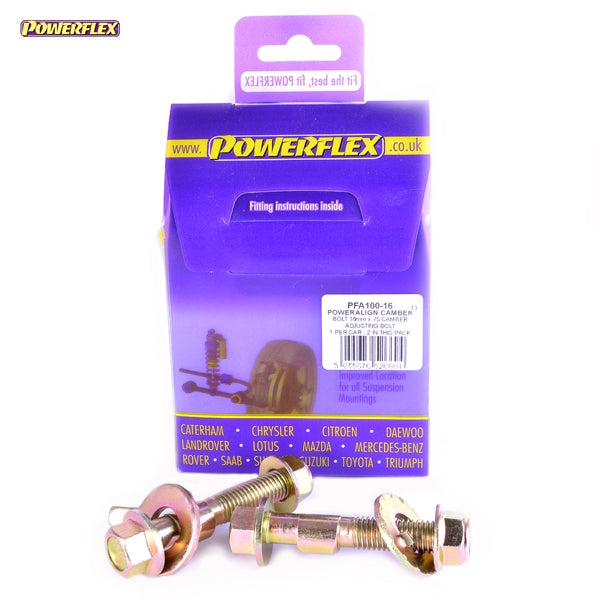 Powerflex Black Series PowerAlign Camber Bolt Kit (16mm) Kit for Honda Civic (EP3)