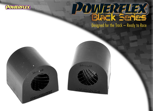 Powerflex Black Series Front Anti Roll Bar Bush 19mm Kit for Fiat Grande Punto
