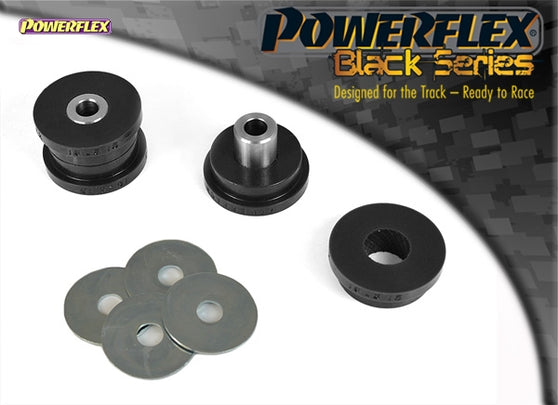 Powerflex Black Series Rear Shock Absorber Top Mounting Bush Kit for Fiat 500