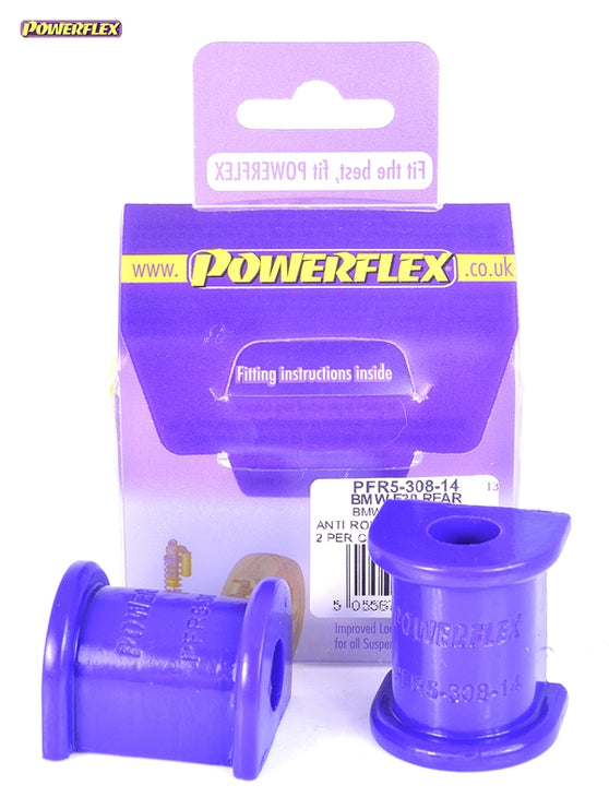 Powerflex Rear Roll Bar Mounting Bush 14mm Kit for BMW 3-Series (E30)