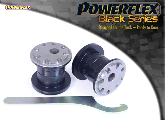Powerflex Black Series Front Wishbone Front Bush Camber Adjustable Kit for Seat Leon (MK2)