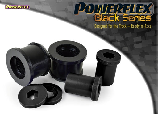 Powerflex Black Series Front Wishbone Rear Bush Kit for Mini Hatch (R53)