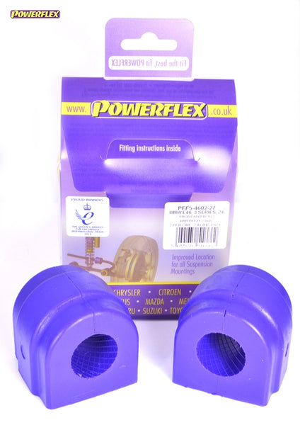 Powerflex Front Anti Roll Bar Mounting Bush 27mm Kit for BMW Z4 (E86)