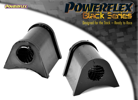 Powerflex Black Series Rear Anti Roll Bar Mount (Outer) 20.5mm Kit for Volkswagen Golf (MK1)