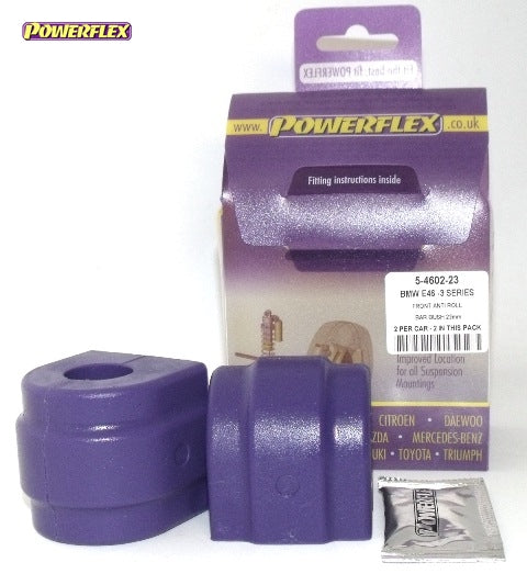 Powerflex Front Anti Roll Bar Bush 23mm Kit for BMW 3-Series (E46)