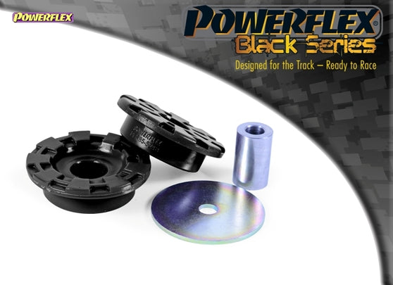 Powerflex Black Series Rear Diff Front Mounting Bush Kit for Seat Leon (MK3)
