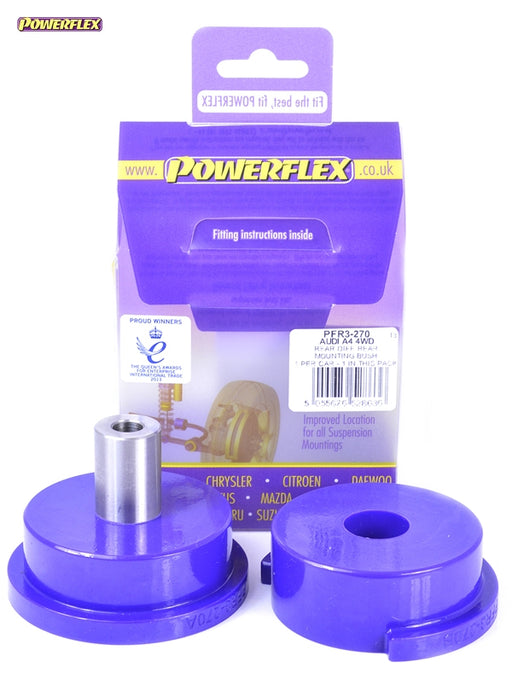 Powerflex Rear Diff Front Mounting Bush Kit for Audi S4 (B6)
