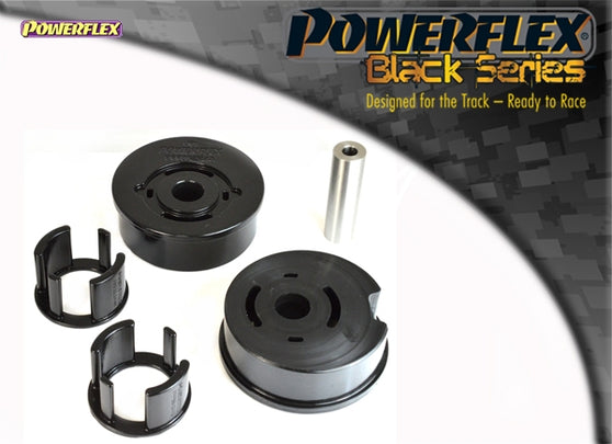 Powerflex Black Series Rear Lower Engine Mount Bush Kit for Volkswagen Golf (MK2)