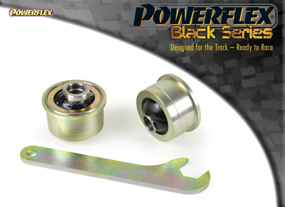 Powerflex Black Series Anti Lift, Caster ADJUSTABLE Front Arm Rear Bush Kit for Subaru Impreza (GH)
