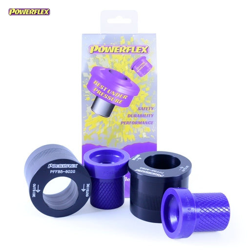 Powerflex Front Wishbone Rear Bush Caster Offset Kit for Volkswagen Polo (9N3)