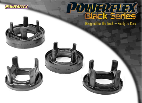 Powerflex Black Series Rear Subframe Rear Mounting Insert Kit for BMW 1-Series (E82)