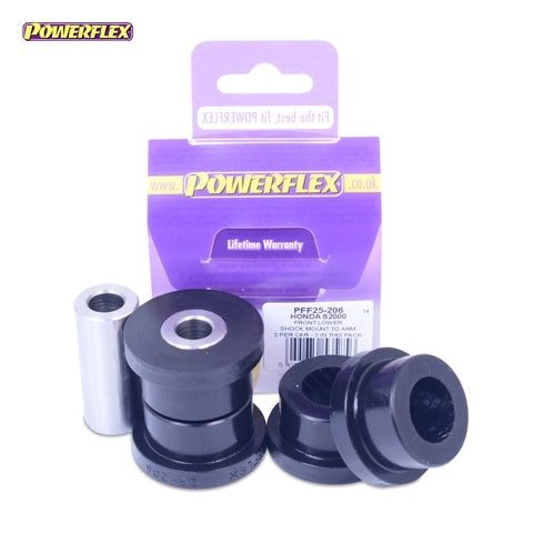 Powerflex Front Lower Shock Mount Bush Kit for Honda S2000