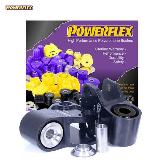 Powerflex Black Series Front Wishbone Rear Bush Anti-Lift & Caster Offset Kit for Ford Focus RS (MK3)