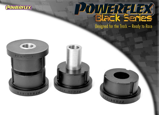 Powerflex Black Series Rear Lower Track Control Arm Outer Bush Kit for Mitsubishi Lancer Evo 6
