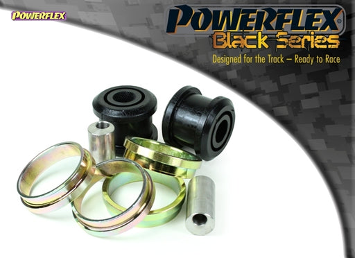 Powerflex Black Series Front Arm Rear Bush Caster Offset Kit for Renault Clio (MK3)