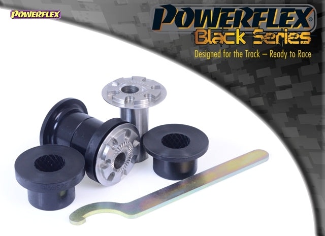 Powerflex Black Series Front Wishbone Front Bush Camber Adjustable Kit for Volkswagen Polo (9N3)