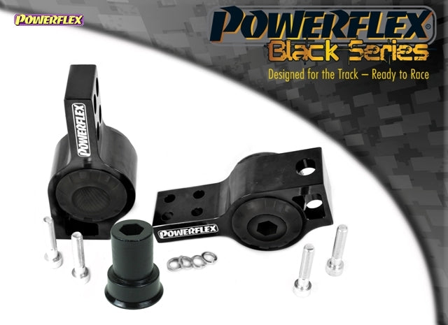Powerflex Black Series Front Wishbone Rear Bush Anti-Lift & Caster Offset Kit for Volkswagen Scirocco