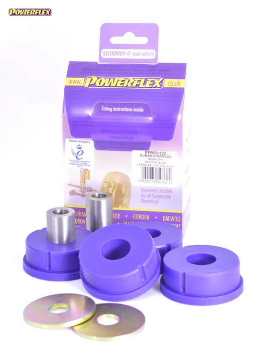 Powerflex Rear Diff Mount Kit for Subaru Impreza (GC)