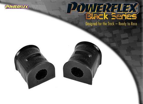 Powerflex Black Series Front Anti Roll Bar To Chassis Bush 24mm Kit for Ford Focus RS (MK2)