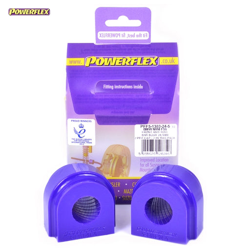 Powerflex Front Anti Roll Bar Bush 24.5mm Kit for Mini Hatch (F56)