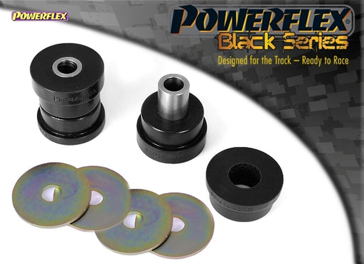 Powerflex Black Series Rear Diff Front Mounting Bush, RS Models Only Kit for Mitsubishi Lancer Evo 9