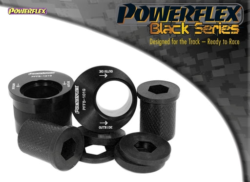 Powerflex Black Series Front Wishbone Rear Bush, Caster Adjusted Kit for Mini Hatch (R53)