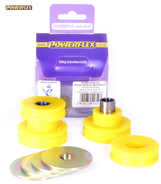 Powerflex Rear Shock Absorber Upper Mounting Bush 12mm Kit for BMW 1-Series (E88)