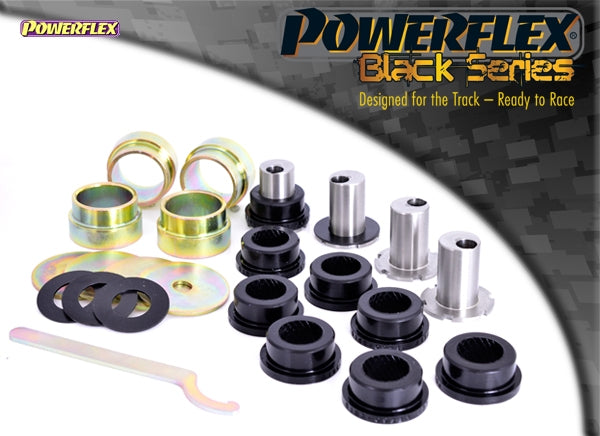 Powerflex Black Series Front Lower Wishbone Bush, Camber Adjustable Kit for Renault Clio (MK2)