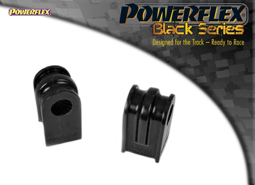 Powerflex Black Series Front Anti Roll Bar Bush 20mm Kit for Renault Clio (MK3)