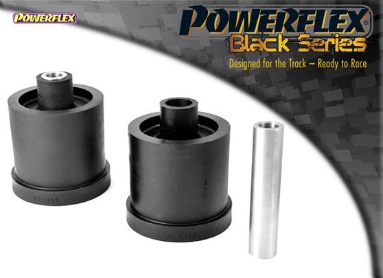 Powerflex Black Series Rear Beam Mounting Bush, 72.5mm Kit for Audi TT (MK1)